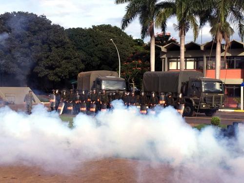ADSUMUS: Grupamento de Fuzileiros Navais de Brasília (GptFNB) realiza adaptação de novos soldados.