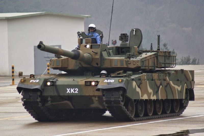 Coreia do Sul assina contrato para a aquisição de 106 carros de combate K2 Black Panther adicionais