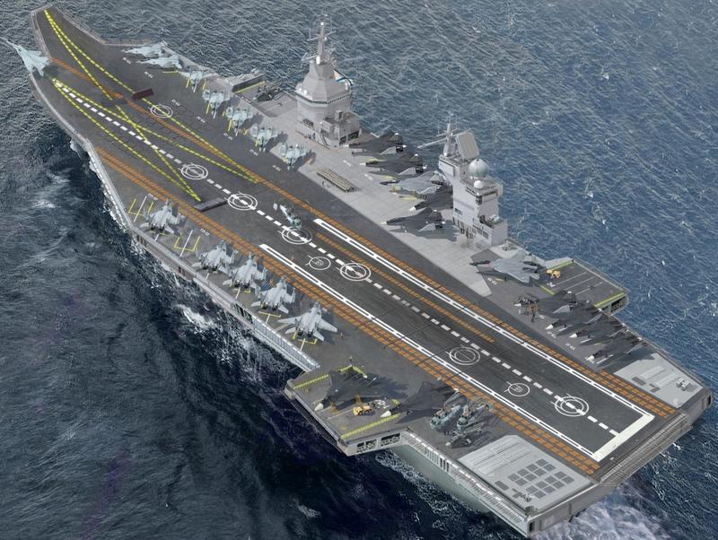 A Rússia vai construir um novo porta-aviões para a Marinha