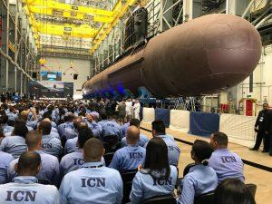 Marinha começa a montagem final do primeiro submarino convencional do PROSUB