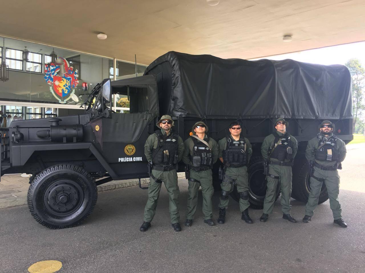 Segurança Pública: Tático Integrado de Grupos de Repressão Especial (T.I.G.R.E.) da Polícia Civil do Paraná (PCPR) recebe viaturas doadas pelo Exército Brasileiro