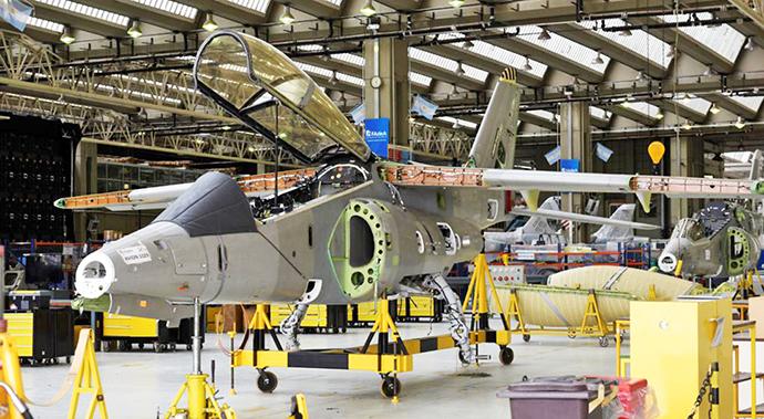 Três Pampa III encomendados para a Fuerza Aérea Argentina
