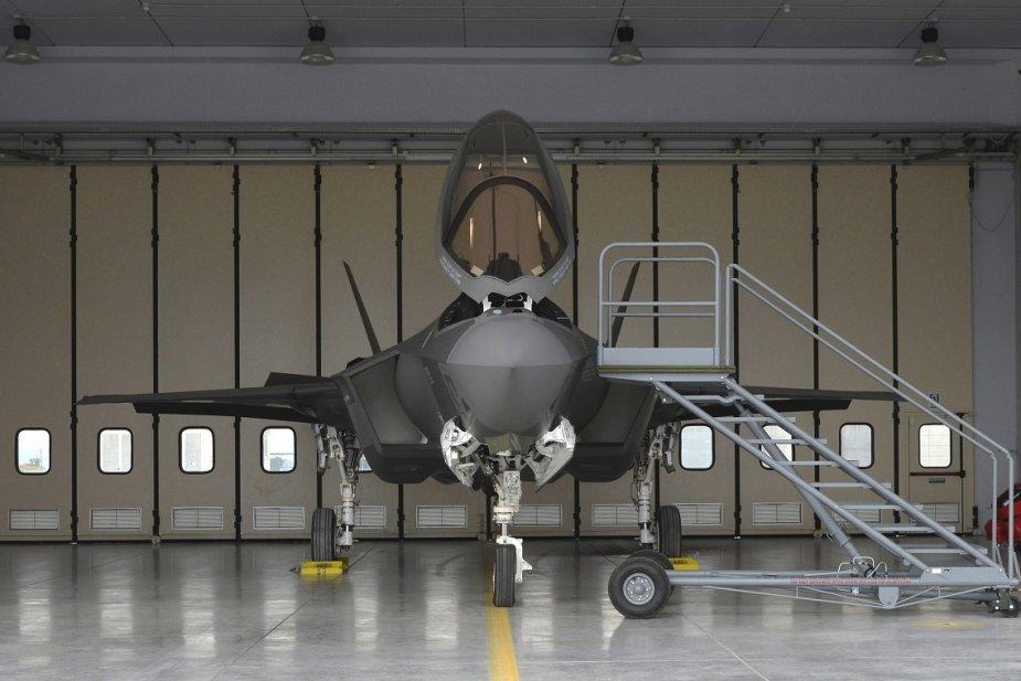F-35A formalmente integrado ao Sistema Nacional de Defesa Aérea Italiano