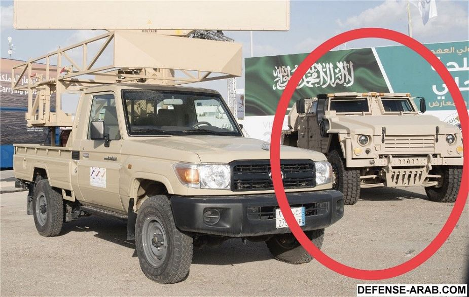 JLTV 4×4 da Lockheed Martin de volta na AFED 2018 Arábia Saudita