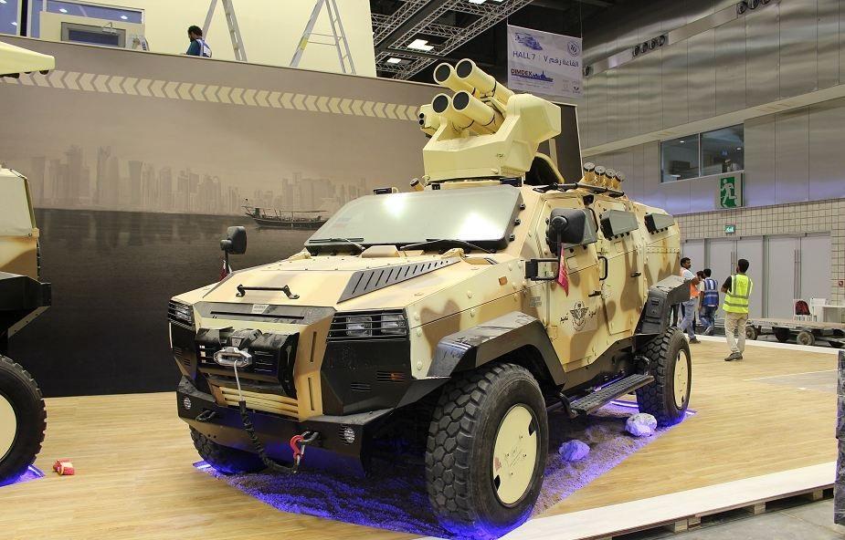 Turquia assina memorando para o fornecimento de blindados ao Qatar
