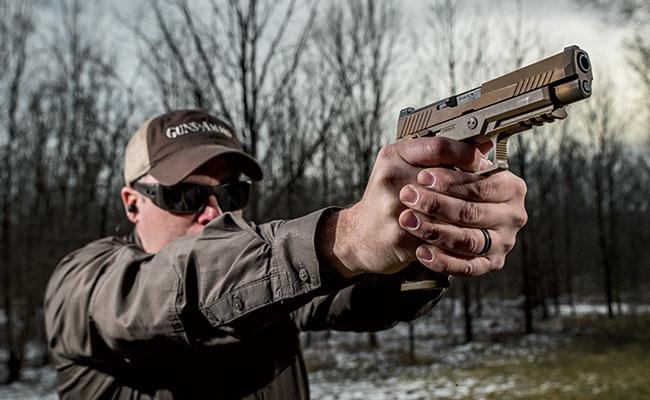 Fuzileiros Navais dos EUA planejam adquirir pistolas do programa Modular Handgun System (MHS)