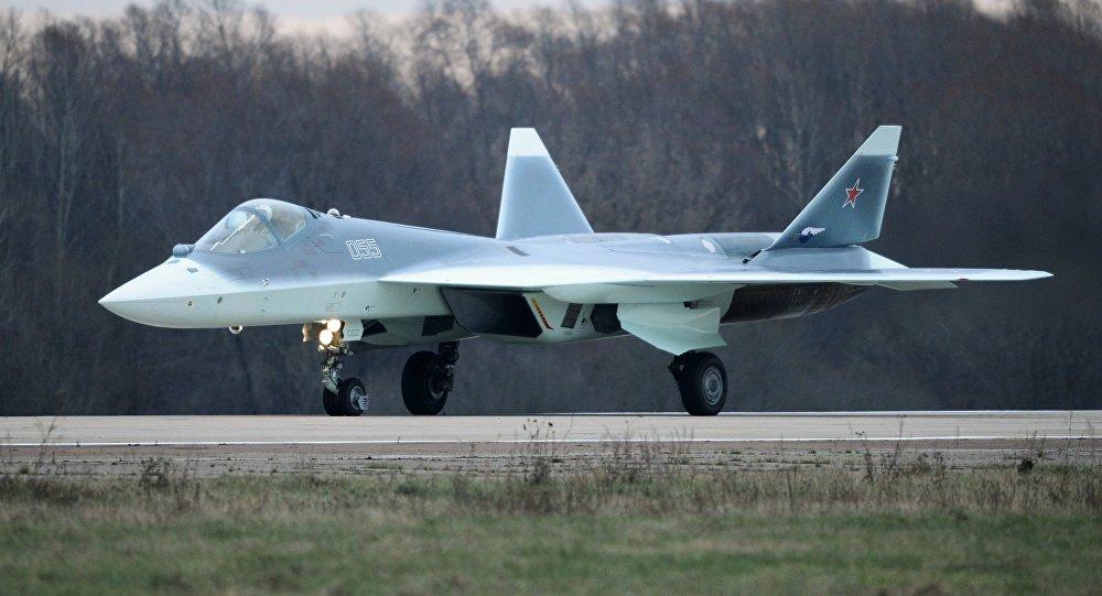 United Aircraft Corporation está pronta para desenvolver a versão naval Su-57K