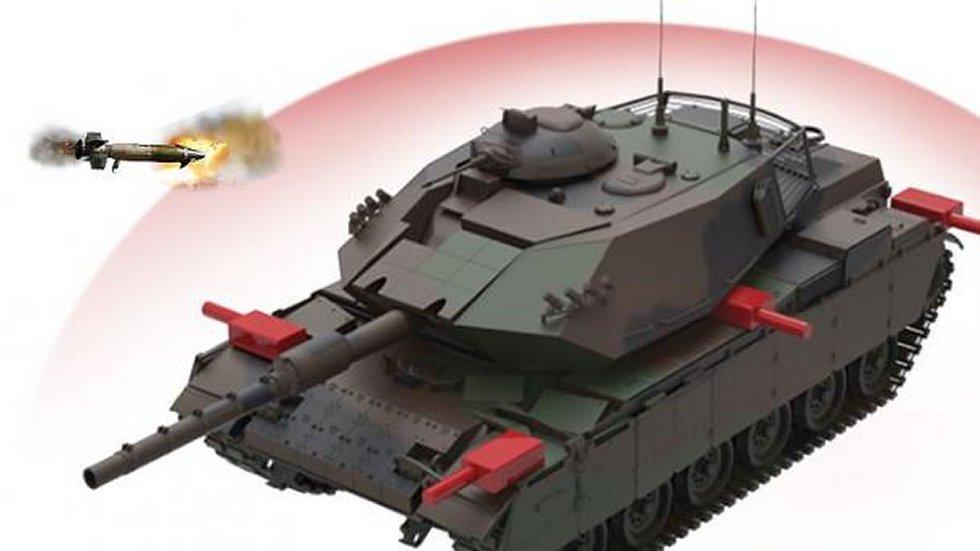 Sistema turco de proteção ativa 'Akkor Pulat' vai equipar Carros de combate na Síria