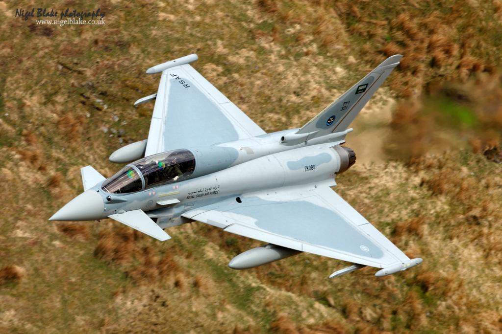 Reino Unido e Arábia Saudita assinam o memorando de intenções para 48  Typhoon adicionais