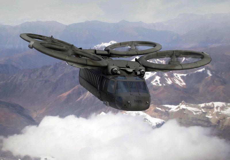 O outro grande programa de modernização da aviação do exército dos Estados Unidos