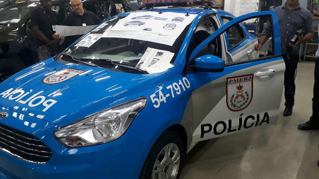 Novas viaturas da PM do Rio tiram nota zero em teste de segurança