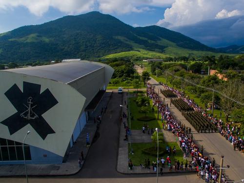 ADSUMUS: CIAMPA realiza 1ª visita dos familiares aos alunos de formação de soldados fuzileiros navais