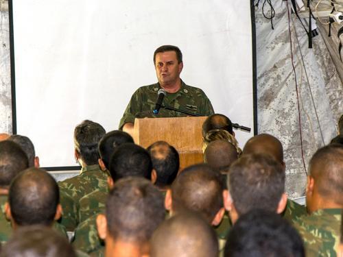 """ADSUMUS: Participação brasileira na República Centro-Africana: """"Estamos prontos"""", avalia Comandante-Geral do CFN"""