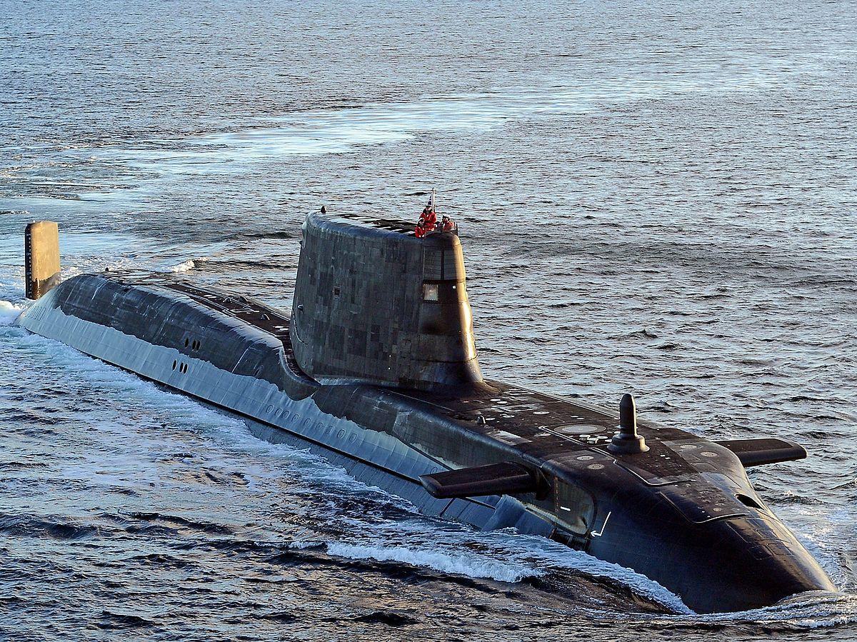 A Grã-Bretanha enviou submarinos para o litoral da Síria