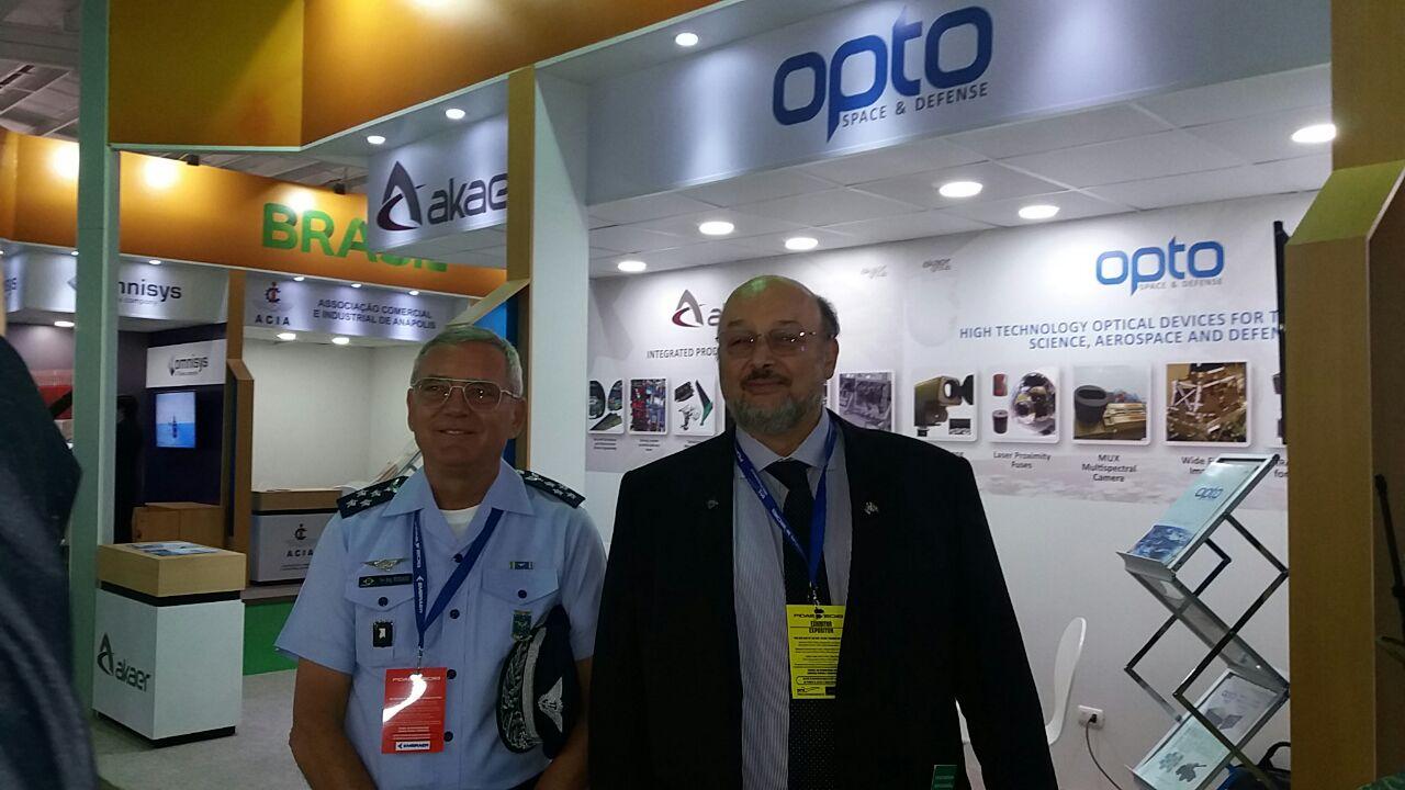 Akaer lança câmera para nano satélites durante FIDAE 2018