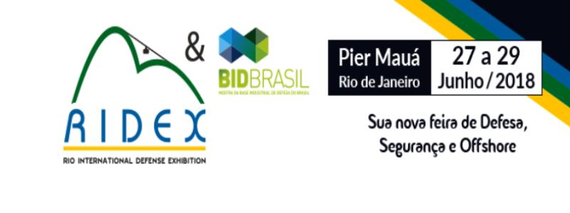 Primeira edição da RIDEX atrairá mais de 20 delegações internacionais ao Brasil