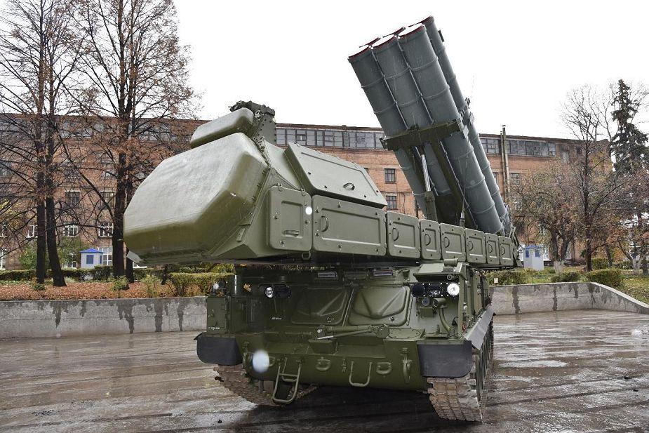 Rússia promove versão de exportação do sistema antiaéreo Buk-M3.