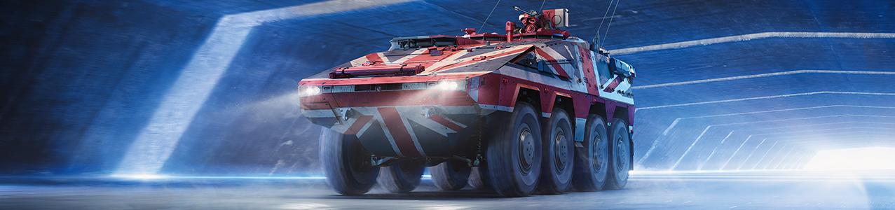 Britânicos retornam ao projeto do  veículo blindado Boxer 8x8