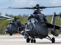 Ministros da Defesa da Sérvia e Rússia discutem a entrega de helicópteros Mi-35