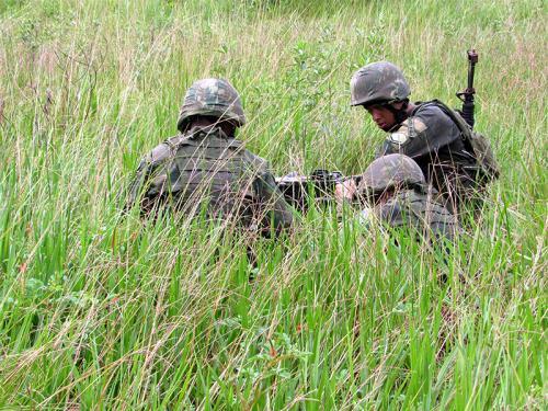 ADSUMUS:  Força de Fuzileiros da Esquadra (FFE) realiza adestramento na Ilha da Marambaia-RJ