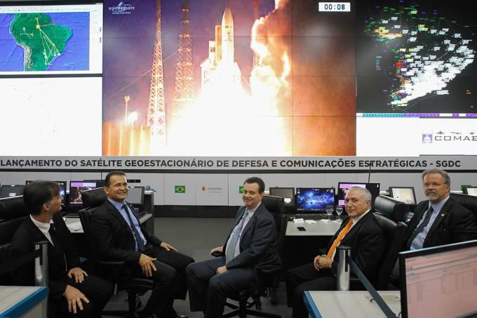 Limites da relação entre tecnologia e autonomia nacional: o caso do Satélite Geoestacionário de Defesa e Comunicações