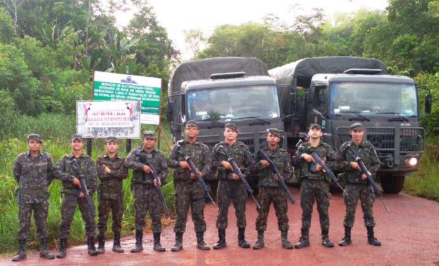 1ª Bda Inf Sl - Operação de Apoio ao IBAMA