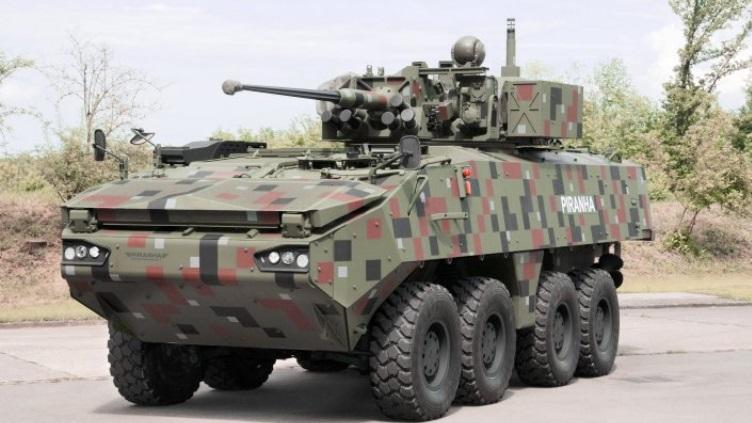 Botsuana adquiri veículos blindados Piranha IIIC 8X8 da GDELS-Mowag