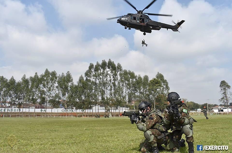 12ª Brigada de Infantaria Leve (Aeromóvel) representa o Brasil na Competição Internacional de Patrulhas no Chile.