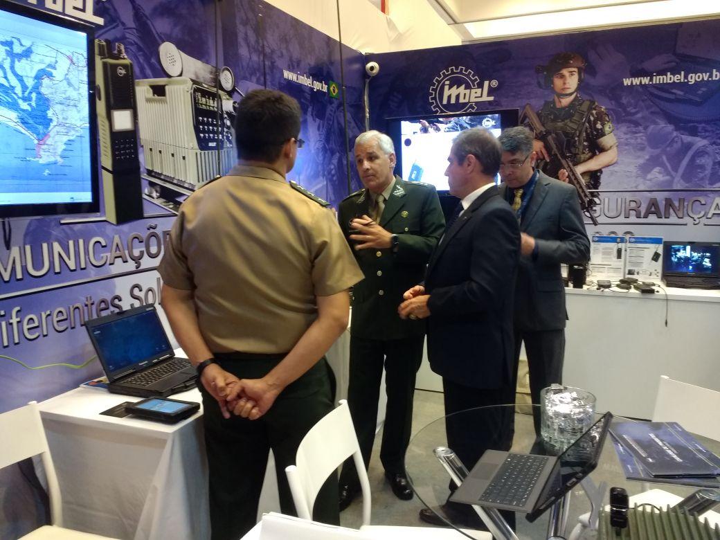 A IMBEL® no 1º Brazil Cyber Defence e 7ª Conferência de Simulação e Tecnologia Militar