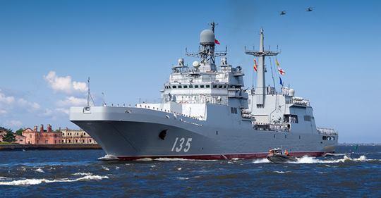 """BDK """"Ivan Gren""""  passa nos testes de mar e segue para incorporação na Marinha Russa"""