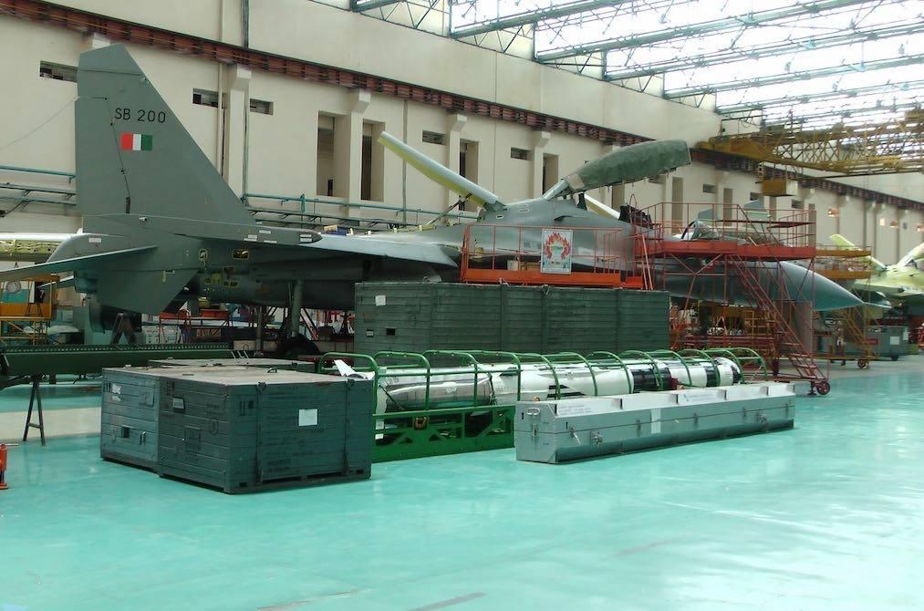 HAL ofereceu à Força Aérea Indiana mais 40 caças Su-30MKI