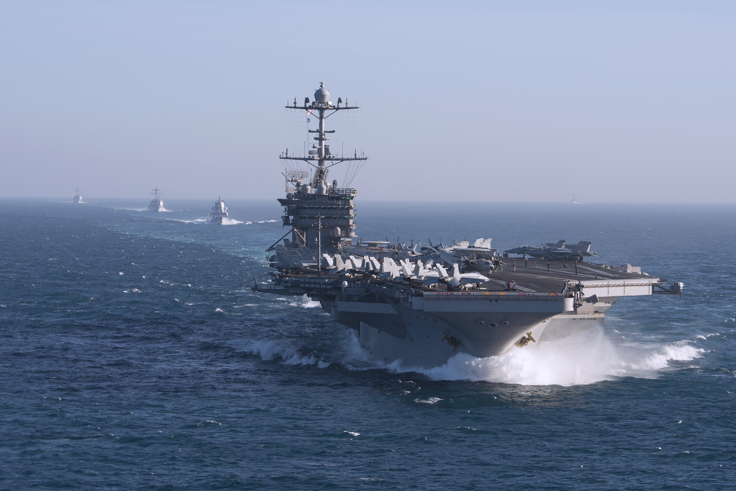 Chefe de Operações Navais Anuncia o reestabelecimento da 2ª Frota no Atlântico Norte
