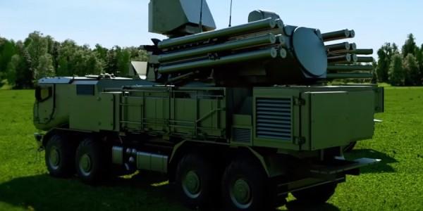Nova versão do Pantsir receberá uma nova geração de mísseis