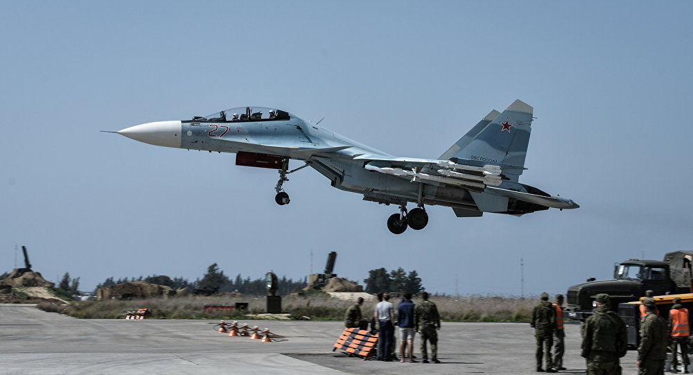 Avião militar russo cai na Síria