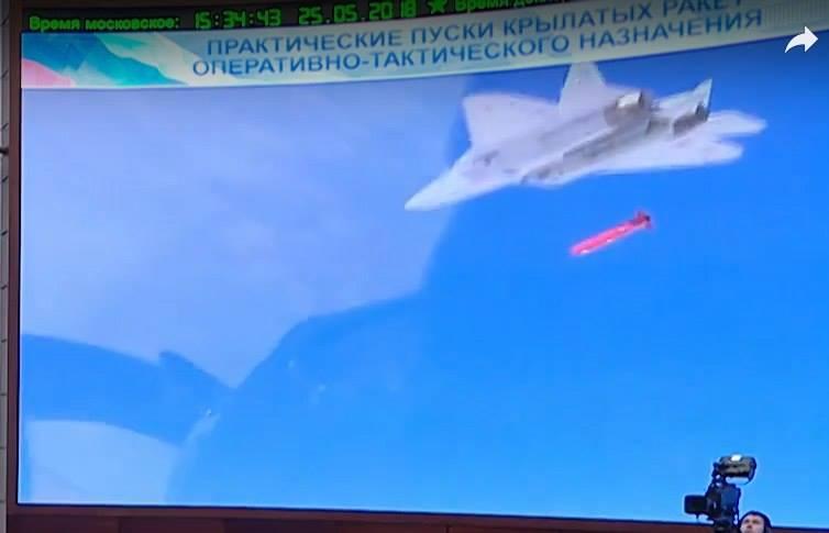 Exclusivo- Su-57  dispara na Síria o novo Míssil tático furtivo X-59MK2