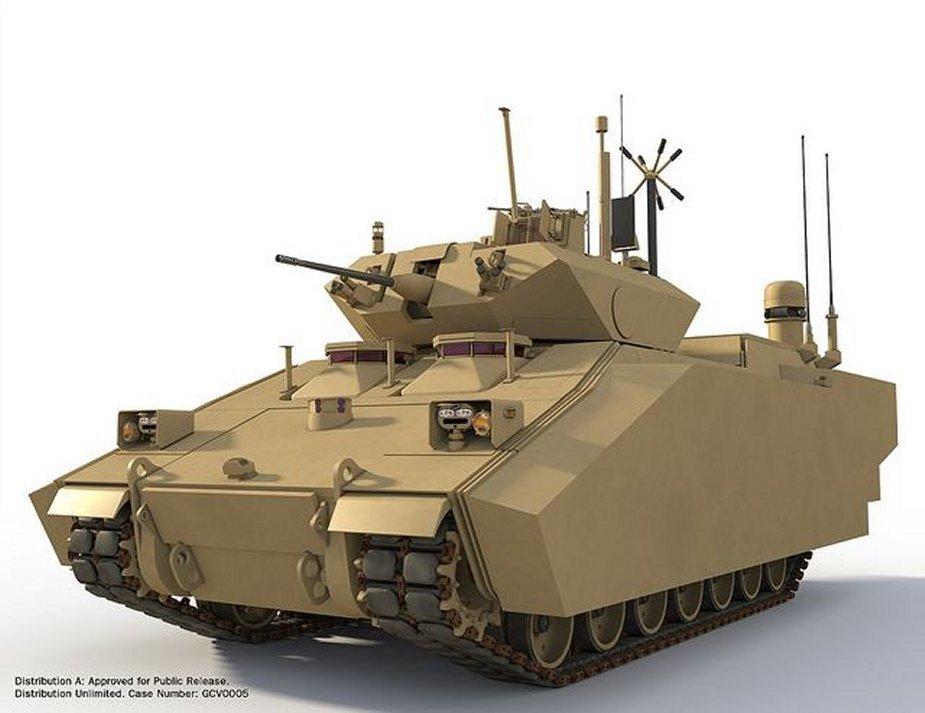 O exército dos EUA precisa de novos veículos de combate de infantaria