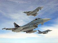 """Segundo jornal alemão, Luftwaffe dispõe de apenas """"04"""" caças Eurofighter em condições de combate para a defesa do seu espaço aéreo"""