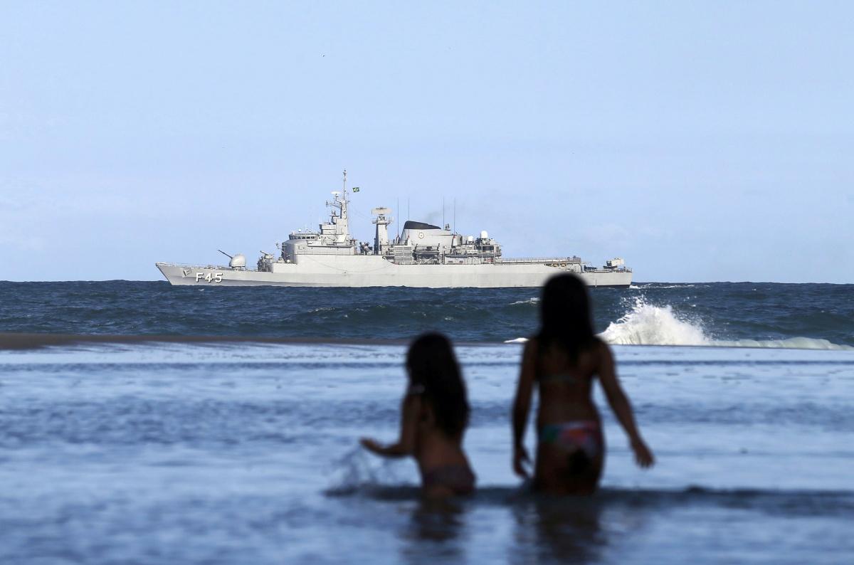 Mostra Submarina do Brasil no Oceano Atlântico Sul