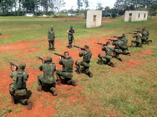 ADSUMUS: Grupamento de Fuzileiros Navais de Brasília (GptFNB) realiza adestramento de equipes de Infantaria