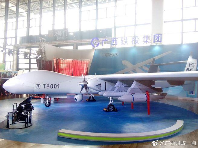 Nova empresa de drones da China está construindo um UAV com uma carga útil de 20 toneladas