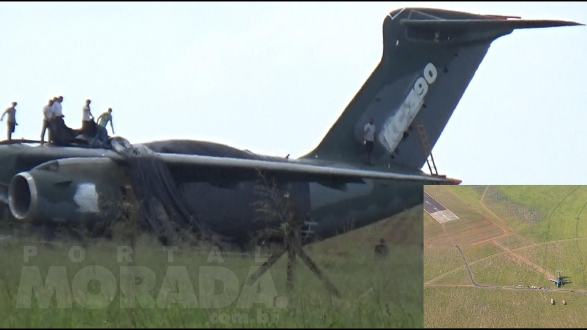 Embraer comunica incidente com o KC-390