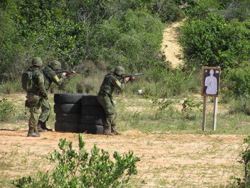ADSUMUS: Grupamento de Fuzileiros Navais de Natal (GptFNNa) realiza treinamento no Campo de Instrução de Muriú