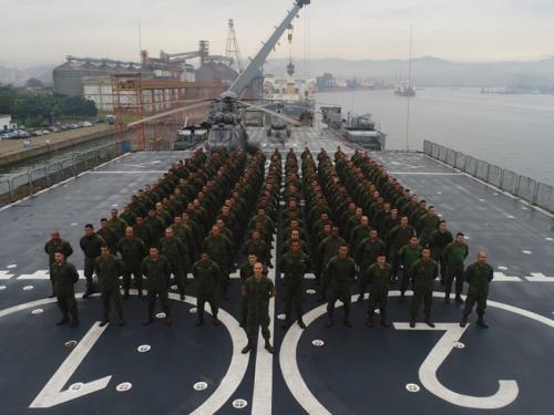 ADSUMUS: Força de Fuzileiros da Esquadra (FFE) atua em operações de Garantia da Lei e da Ordem