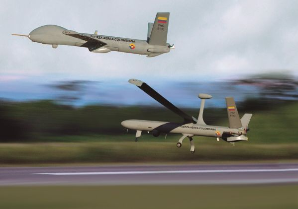 Força Aérea Colombiana intensifica programa de Aeronaves Remotamente Tripuladas