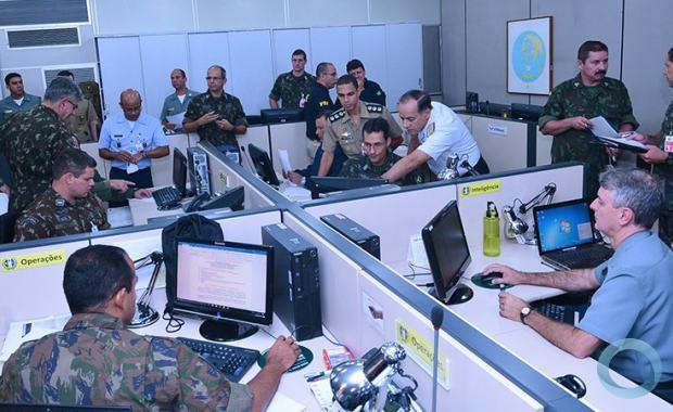 Operação São Cristovão: Comando de Operações Conjuntas do MD coordena ações comos órgãos de Segurança Pública e agentes governamentais
