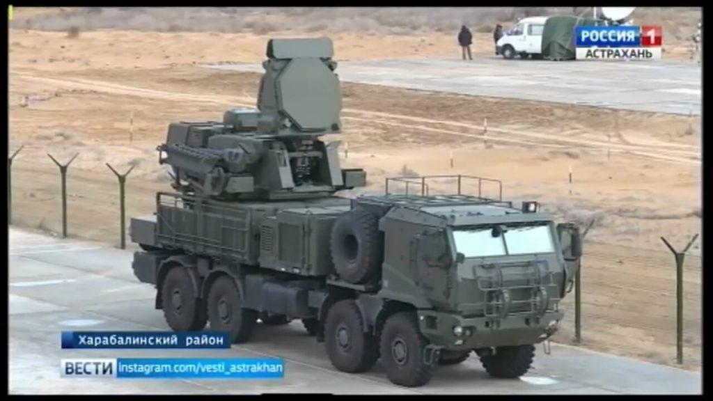 Argélia avalia o sistema antiaéreo Pantsir-SM
