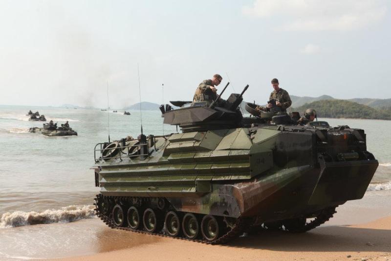 Departamento de Defesa dos EUA confirma  acordo para fornecer veículos de assalto anfíbio AAV-7A1 para Taiwan