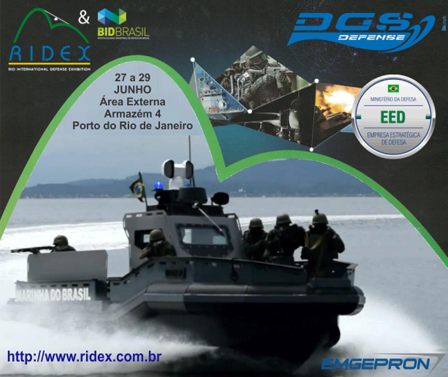 DGS Defense entrega embarcação multimissão blindada à Marinha do Brasil na RIDEX 2018