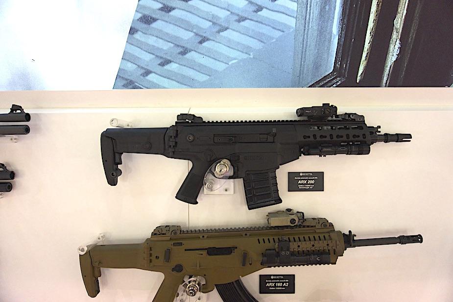 Eurosatory 2018: Beretta apresenta nova versão do seu rifle ARX200