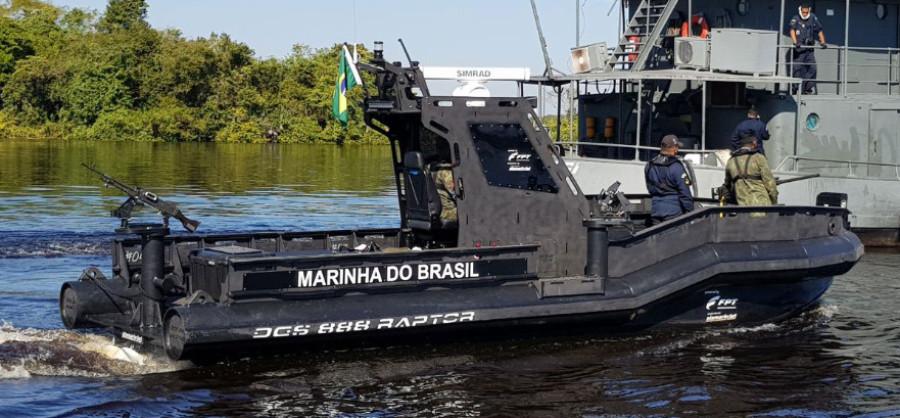 Marinha do Brasil incorpora mais um modelo de embarcação fabricada pela DGS Defense em sua frota